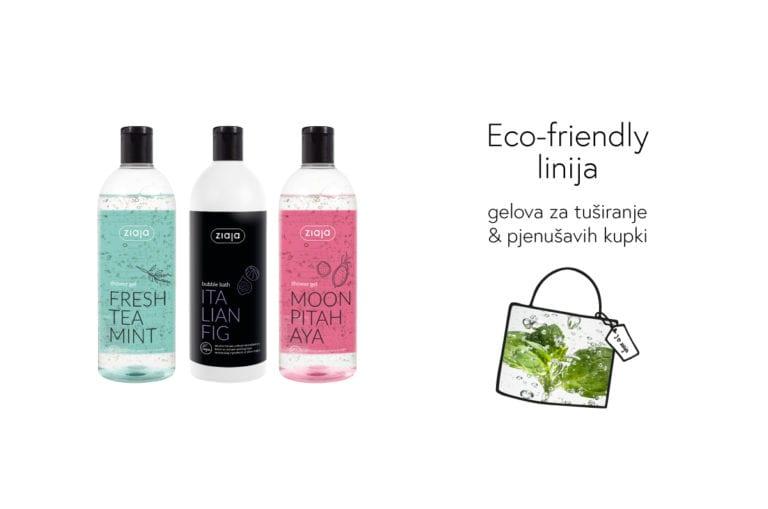 Samo za vas i samo ovdje… Upoznajte nove Ziaja Eco-friendly veganske gelove za tuširanje i kupke 🛁 🚿